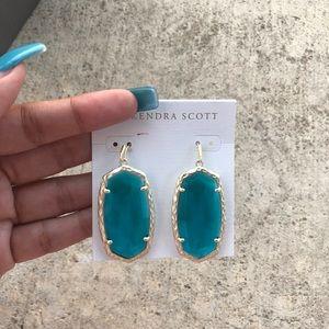 NWT Kendra Scott London Blue Ella Earrings